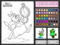Παιχνίδι alice παιχνίδι coloring σε